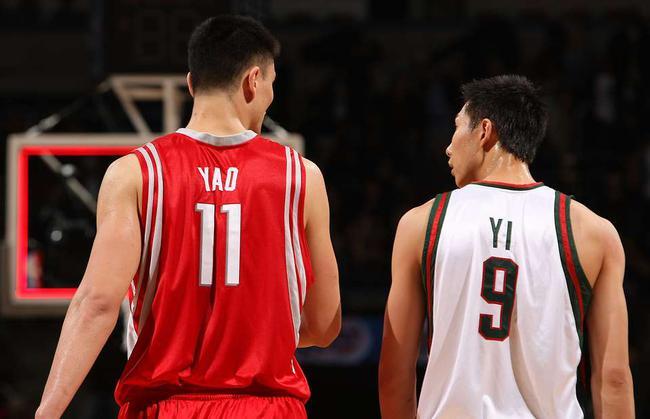 NBA中国3塔体测对比:姚明不如周琦 易帝太惊人