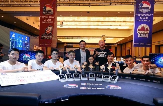 GPL中国站总冠军成都熊猫战队