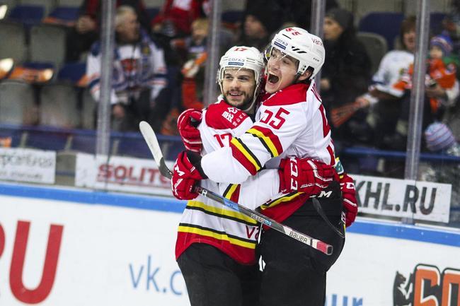 贝克最后18秒绝杀 KHL昆仑鸿星4