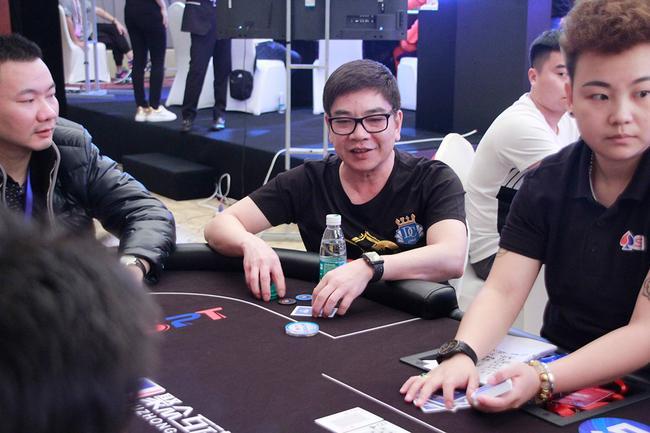 华人扑克宗师David Chiu参赛