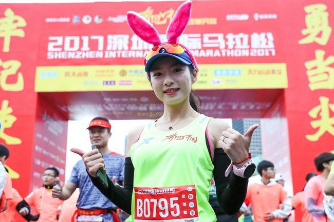 张瑞霞成功完成500官方配速员的使命