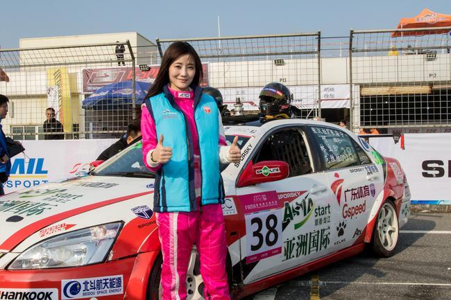 专访SEC12小时耐力赛车手林立 女司机的提升之路