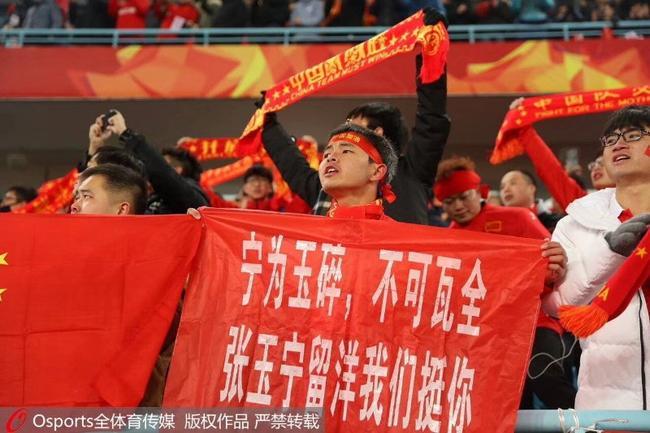 张玉宁:提前复出大大超出预期 下一场必须赢