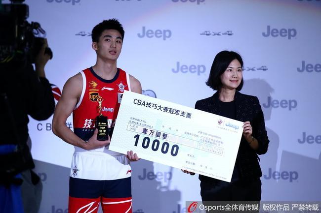 全明星赛技巧赛决赛-深圳于德豪44.2秒夺冠