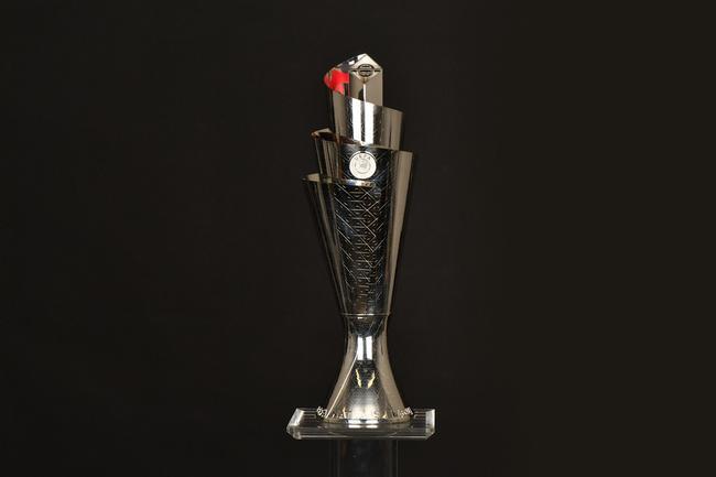 抽签之前揭晓的欧洲国家联赛奖杯
