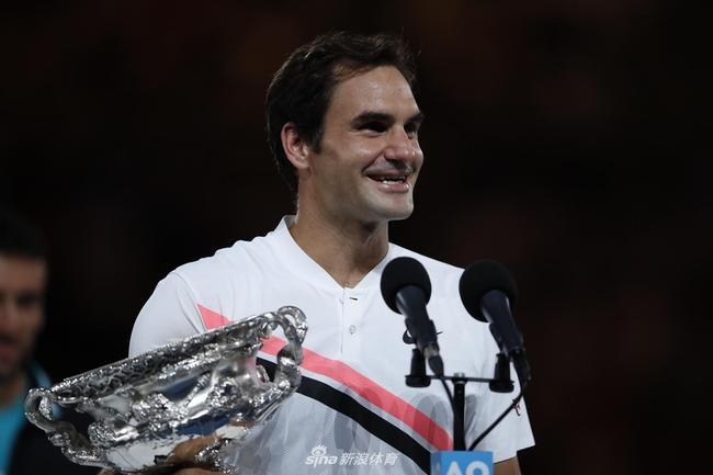 今年澳网费德勒夺冠