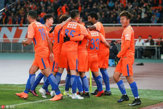 鲁能揭幕战3-0胜国安