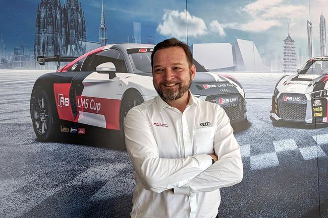 奥迪运动(亚洲)客户赛车部门总监马丁-库尔(Martin Kuehl)