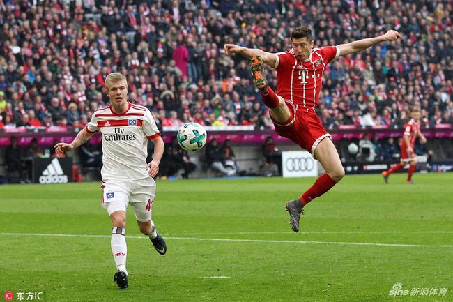 拜仁6-0大胜汉堡
