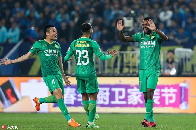中超-巴坎布首球韦世豪世界波 国安2-1客胜苏宁
