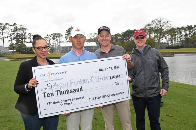 1万美元善款捐助于佛罗里达州癫痫基金会