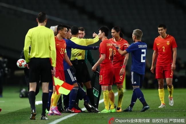 国足东亚杯不敌日本