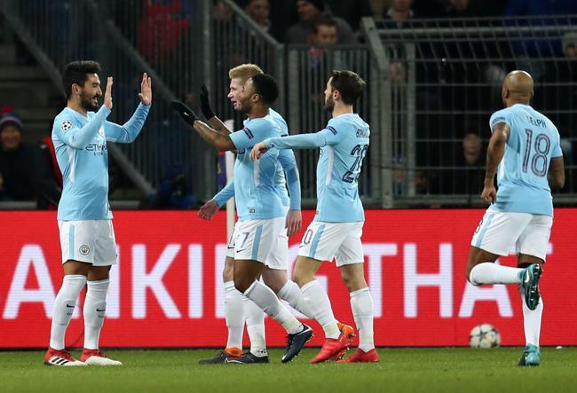 欧冠1/8决赛 巴塞尔 0-4 曼城_直播间_手机新浪网