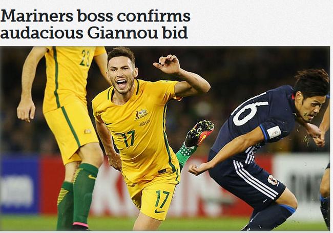 澳超队主帅表态尝试引进吉安努 看上他的得分能力
