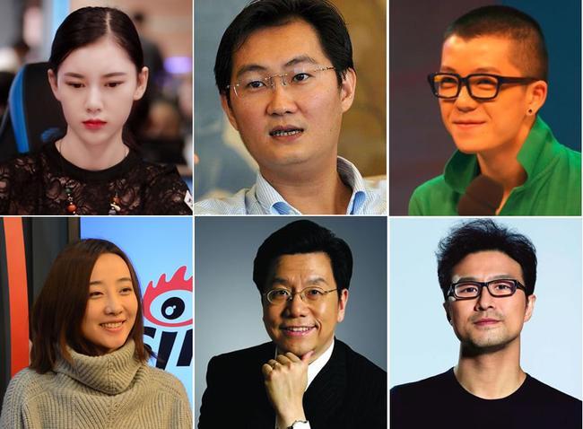 2017扑克十大人物:李开复汪峰马化腾王栎鑫