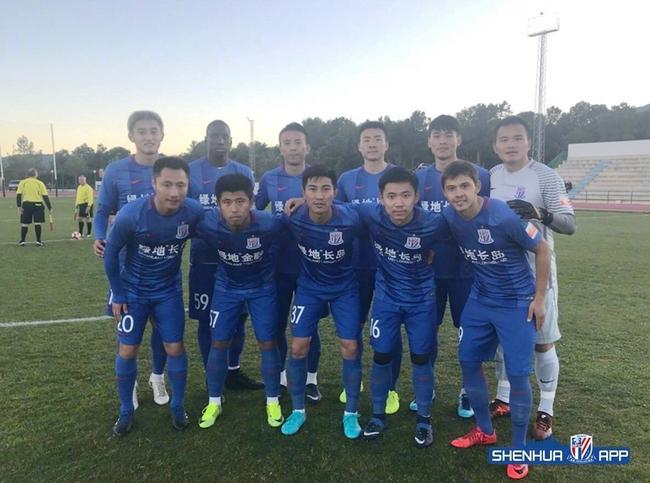 申花进行冬训首次体能测试 球队很满意测试结果