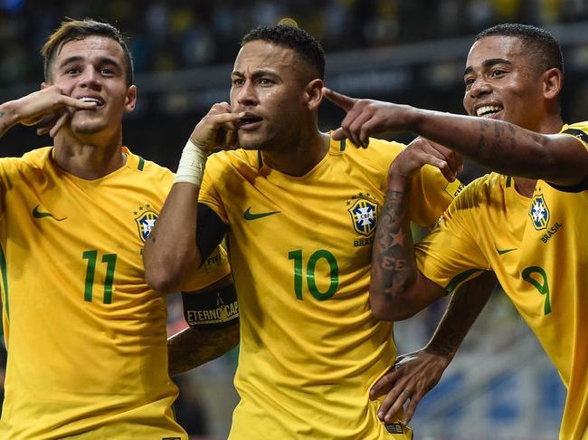 巴西瞄准小组头名