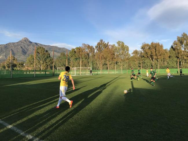 U23小将完成热身赛首球 江苏苏宁战平欧罗巴FC