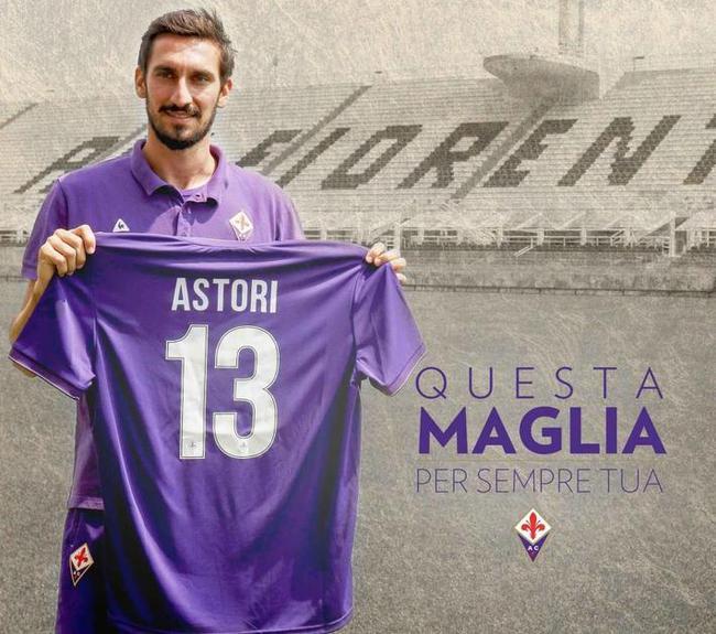 佛罗伦萨退役阿斯托里球衣