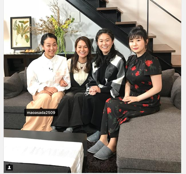 日本体坛四大女神同框 福原爱被网友赞颜值第一