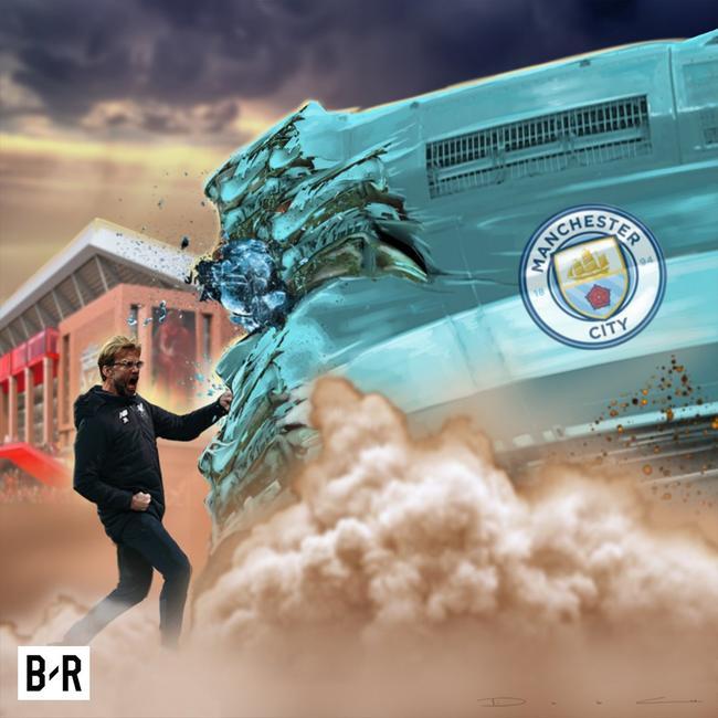 克洛普率利物浦击沉曼城