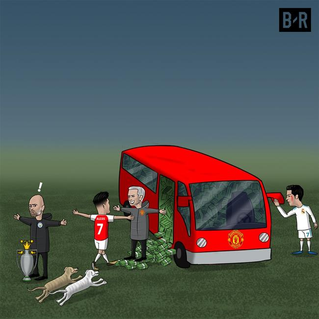 曼联不计代价从曼城手里抢走桑切斯