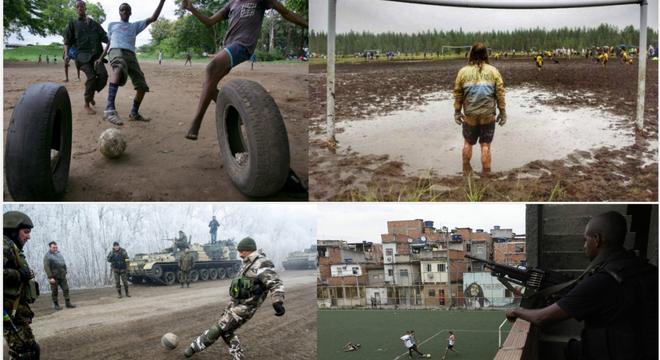 这就是足球!没什么能阻挡人们对足球的喜爱