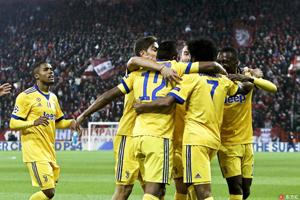 欧冠-夸德拉多贝贝破门 尤文2-0晋级16强