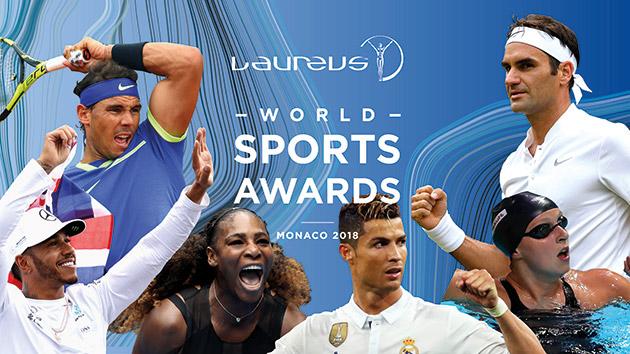 劳伦斯世界体育奖提名揭晓