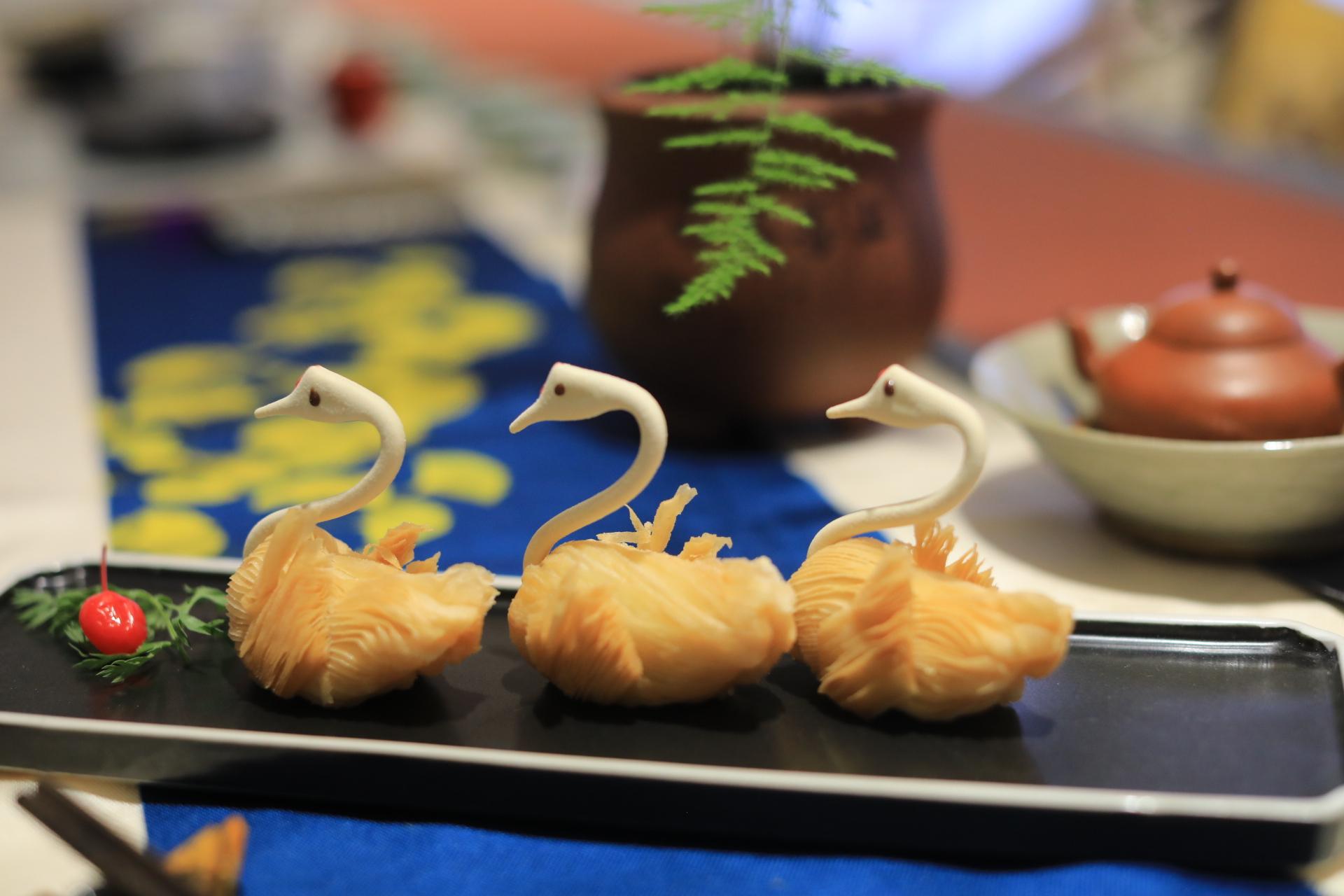 茶食文化相融合的永昌泰茶馆