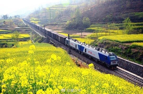 2018汉中油菜花节在勉县启动