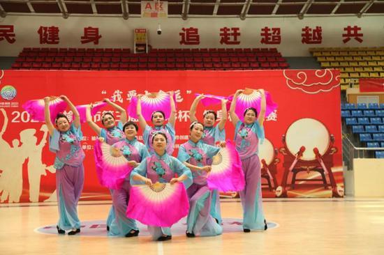 2020榆林第三屆健身秧歌大賽成功舉行