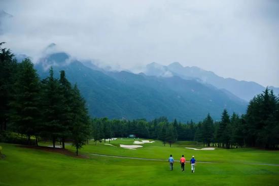 十四运会高尔夫球项目测试赛开赛