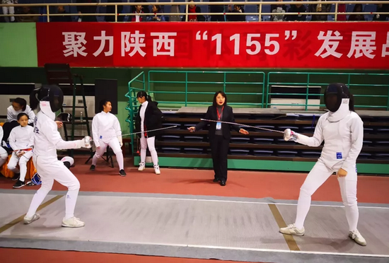 陕西省青少年击剑俱乐部联赛圆满结束