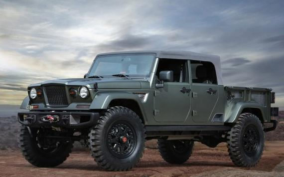 曝Jeep皮卡车型信息