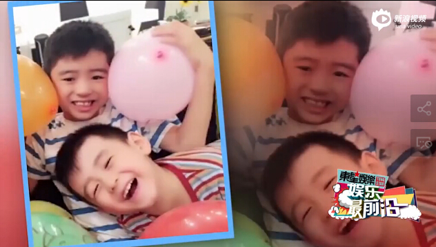 谢霆锋不谈柏芝与儿子 关注王菲女儿专辑