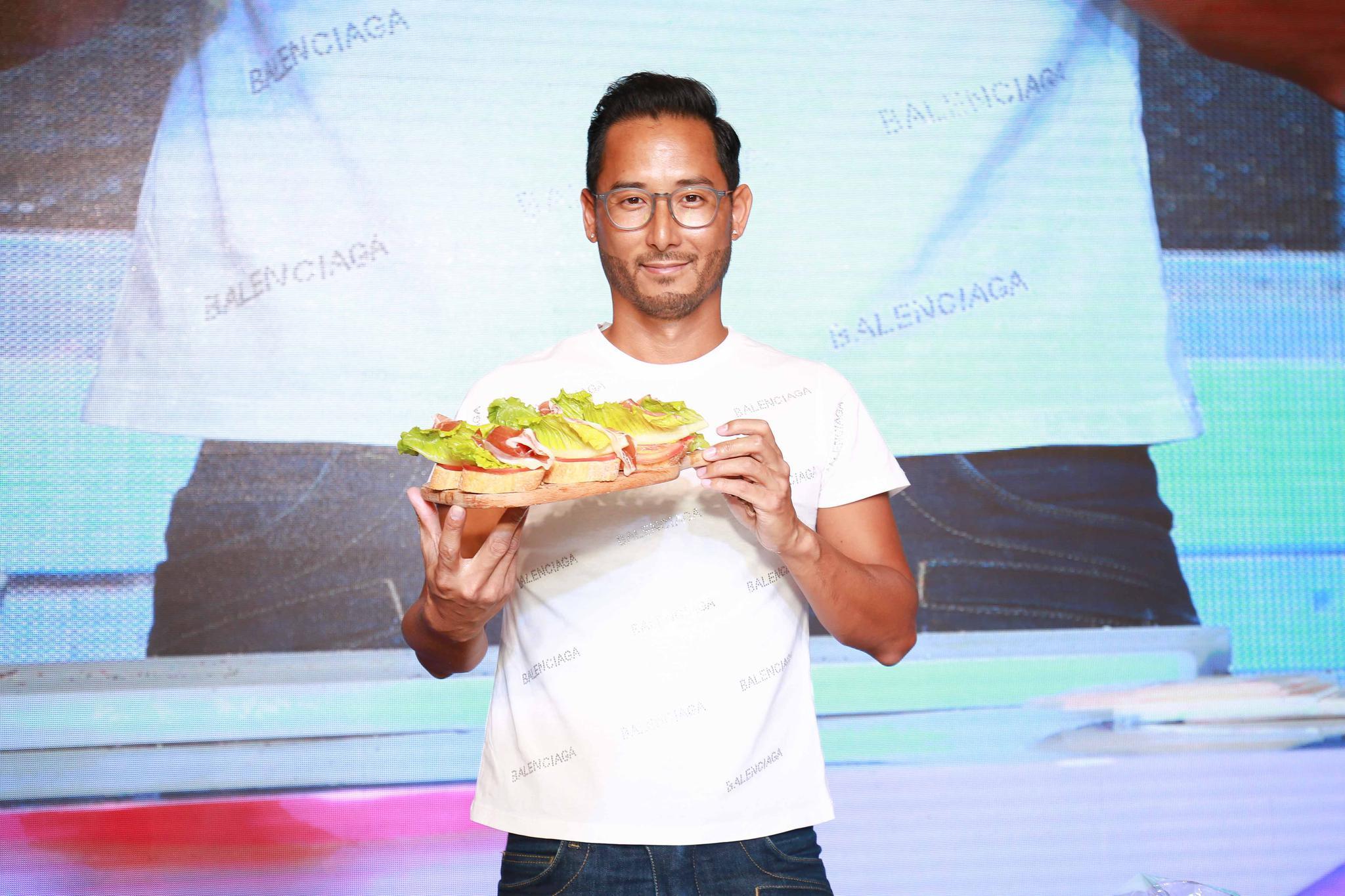 国际星厨刘一帆现身西安 揭秘最新健康菜谱