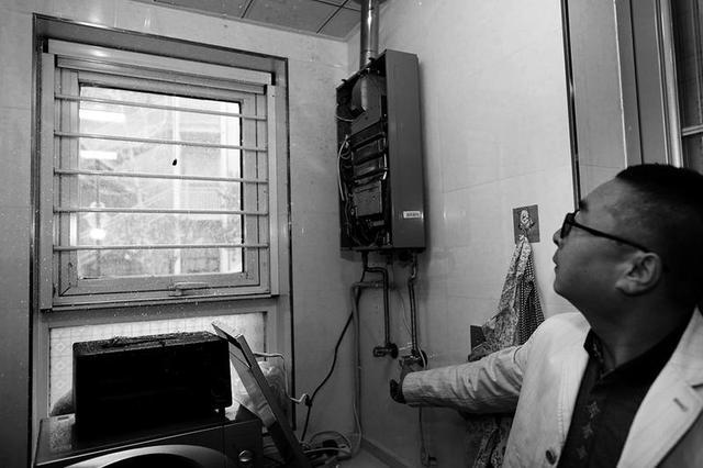 热水器漏水家里被水淹 市民有家不能住在外租房
