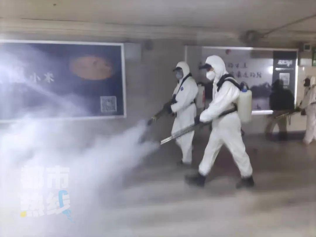 重要通知!西安火车站开始进行大规模消杀 持续到3月8号