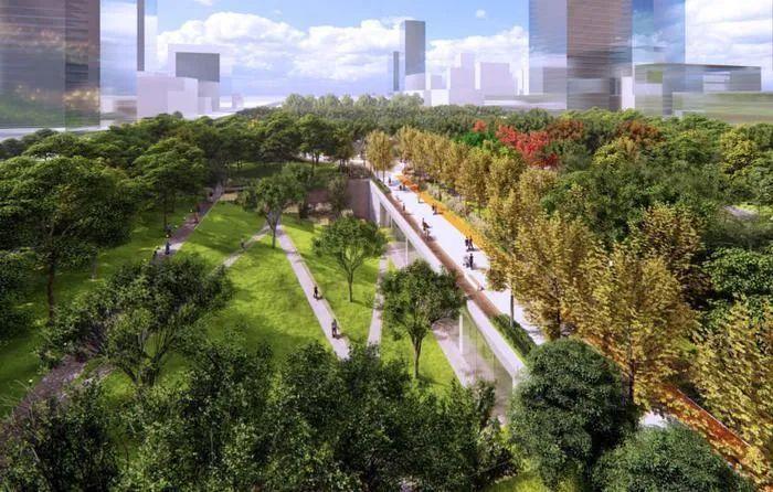 西安市幸福林带主体建设完成 7月1日正式开放