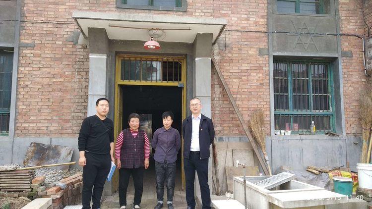 农业农村和水务局无缝对接秦渡镇北沙河村帮扶贫困户