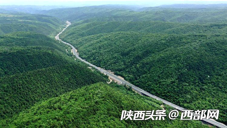 剛剛!延黃高速通車 陜西再添南北出行新通道