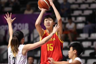 亚运会:中国女篮123-31中国香港
