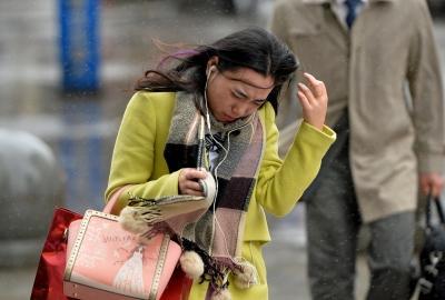 西安气温骤降14℃ 关中陕南连阴雨至少持续到11日