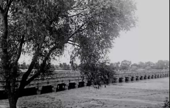 1906年的浐灞图片来源:央视《文化大百科》截图