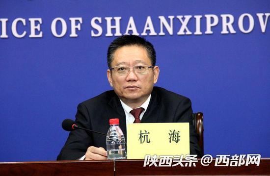 杭海介绍苏陕扶贫协作近年工作成效及2020年工作进展情况。