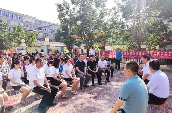 省委扫黑除恶专项斗争宣讲团走进灞桥进行专题宣讲
