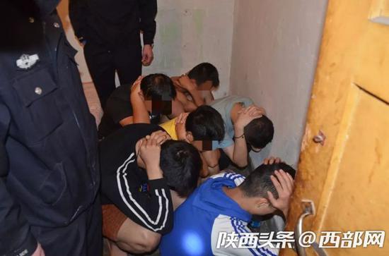 宝鸡渭滨公安摧毁一涉恶犯罪集团 抓获涉案人员