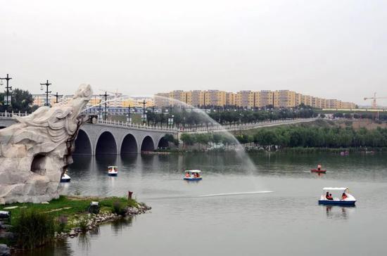 三、浐灞生态区与新城区