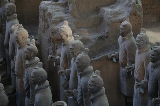 秦始皇兵马俑,图片来源:视觉中国